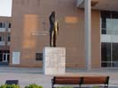 Statue of Dr. Martin Luther King at Morehouse College