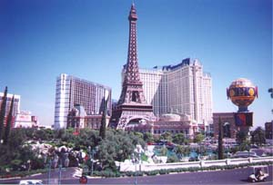 The Paris Hotel in Las Vegas, NV